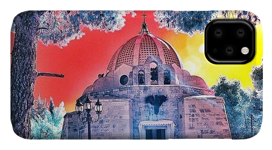 Art IPhone Case featuring the photograph The Church Of The Shepherd's Fields by Tommy Tjahjono