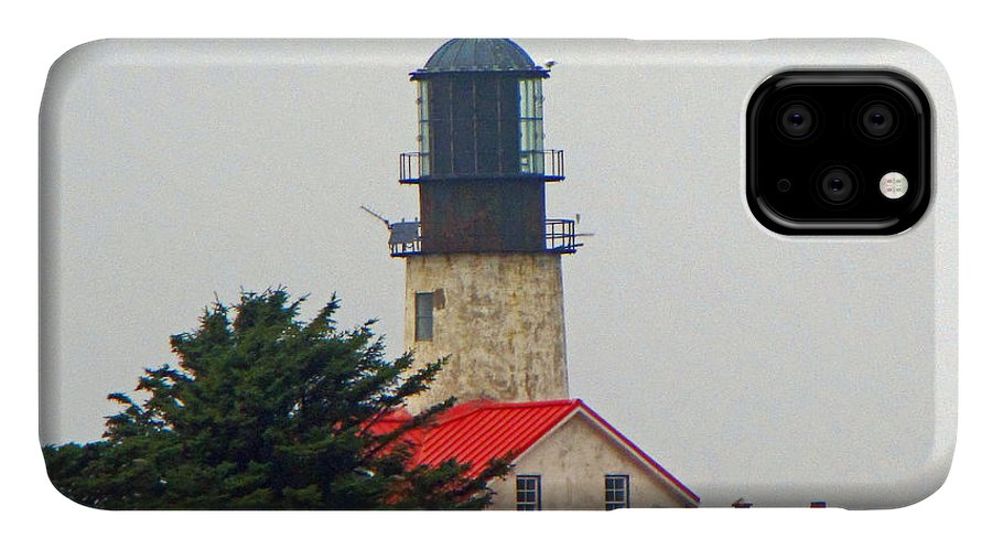 Cape Flattery IPhone 11 Case featuring the photograph The Lighthouse Of Tatoosh by Tikvah's Hope