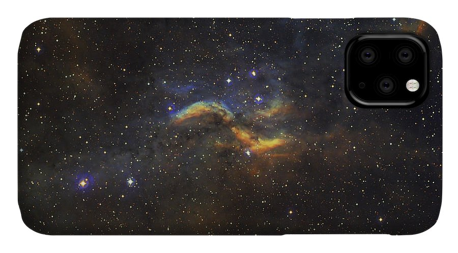 Propeller Nebula IPhone 11 Case featuring the photograph The Propeller Nebula by Filipe Alves