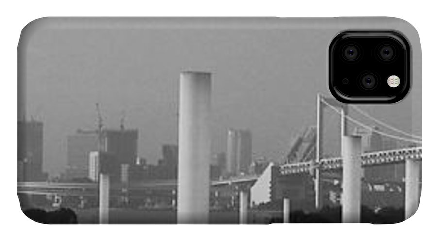 Tokyo IPhone 11 Case featuring the photograph Tokyo Panorama by Naxart Studio