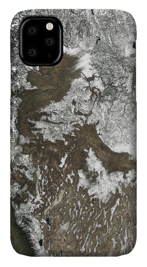 Alberta IPhone Case featuring the photograph Western United States by Stocktrek Images