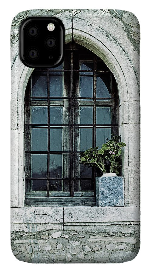 Windows IPhone Case featuring the photograph Window Of A Chapel by Joana Kruse