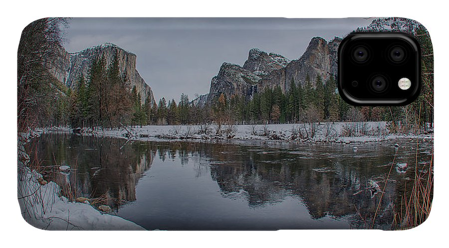 Bridal Veil Buttress IPhone Case featuring the photograph Bend In The River by Bill Roberts