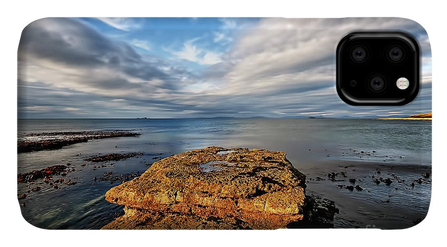 Duntulm IPhone 11 Case featuring the photograph Duntulm by Smart Aviation