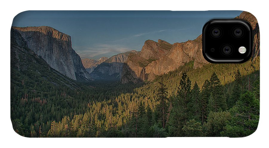 Bridal Veil Buttress IPhone Case featuring the photograph Golden Yosemite by Bill Roberts