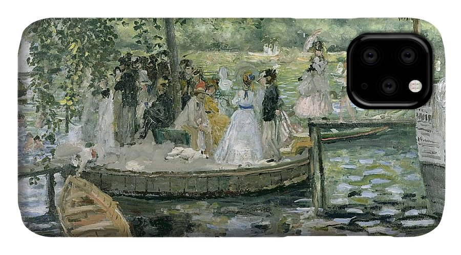 Grenouillere IPhone Case featuring the painting La Grenouillere by Pierre Auguste Renoir