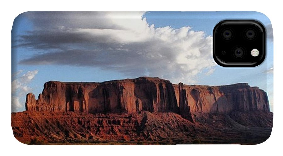 Usa IPhone Case featuring the photograph Monument Valley by Luisa Azzolini