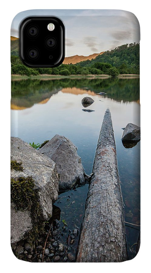 Landscape IPhone Case featuring the photograph Sunrise at Ullswater, Lake District, North West England by Anthony Lawlor