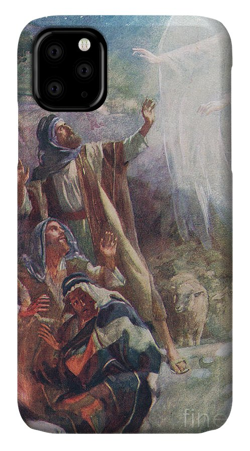 Angel IPhone Case featuring the painting The Nativity by Harold Copping