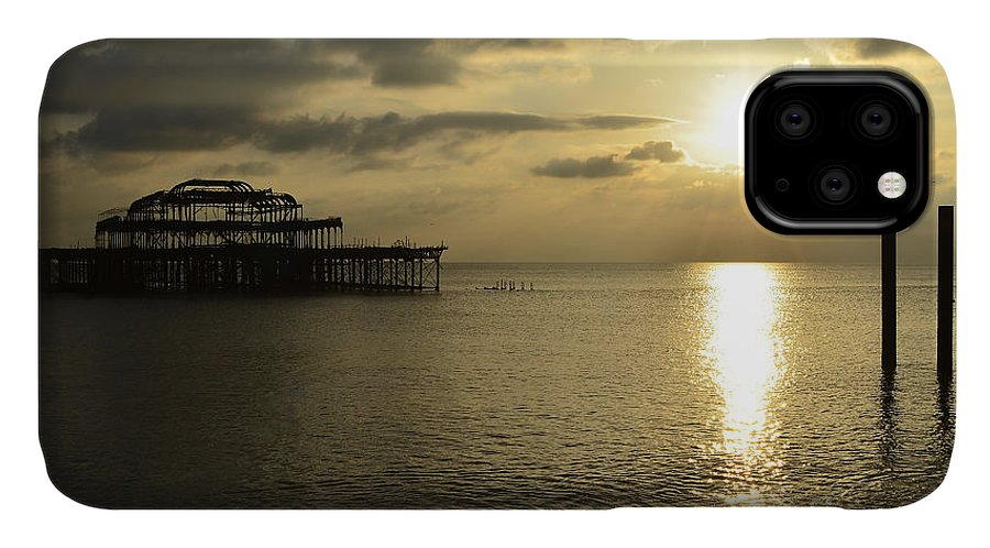 West Pier IPhone Case featuring the photograph The West Pier 1 by Smart Aviation