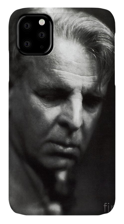 William Butler Yeats IPhone 11 Case featuring the photograph William Butler Yeats by Photo Researchers