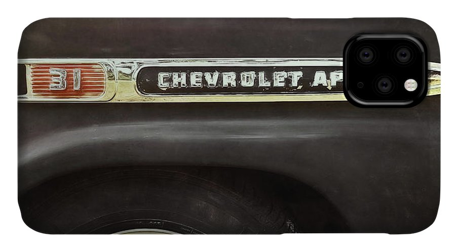 Classic Car IPhone Case featuring the photograph 1959 Chevy Apache 1959 by Scott Norris