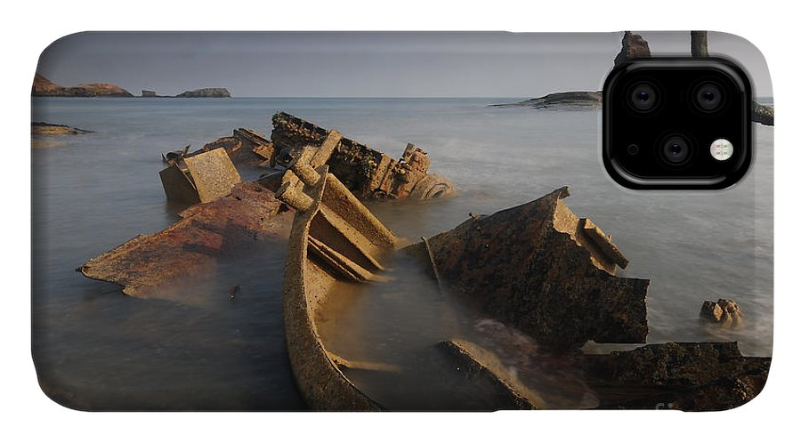 Saltwick Bay IPhone Case featuring the photograph Admiral Von Tromp by Smart Aviation