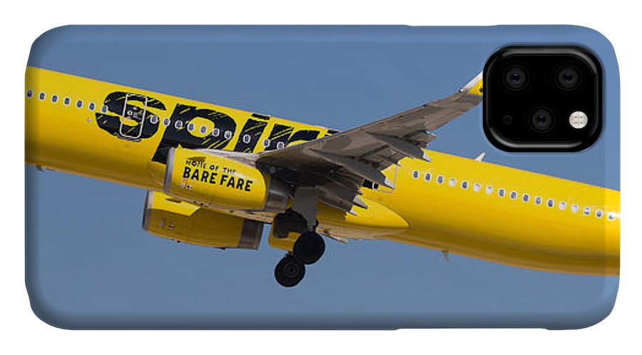 Spirit IPhone Case featuring the photograph Spirit Airline by Dart and Suze Humeston