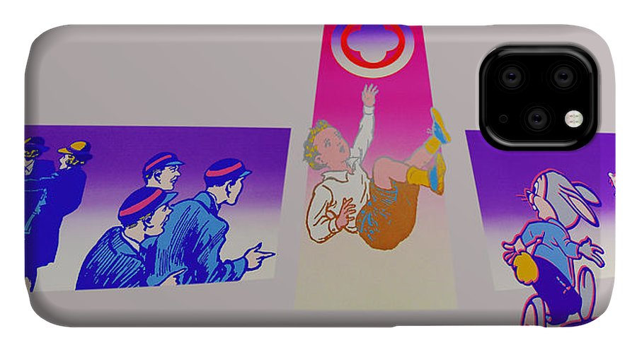 Woodstock IPhone Case featuring the painting By The Time I Got To Woodstock by Charles Stuart