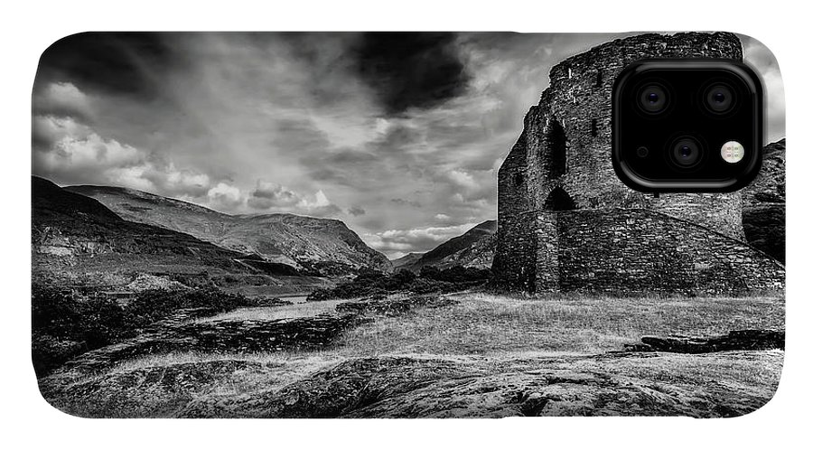 Dolbadarn Castle IPhone 11 Case featuring the photograph Dolbadarn Castle by Adrian Evans