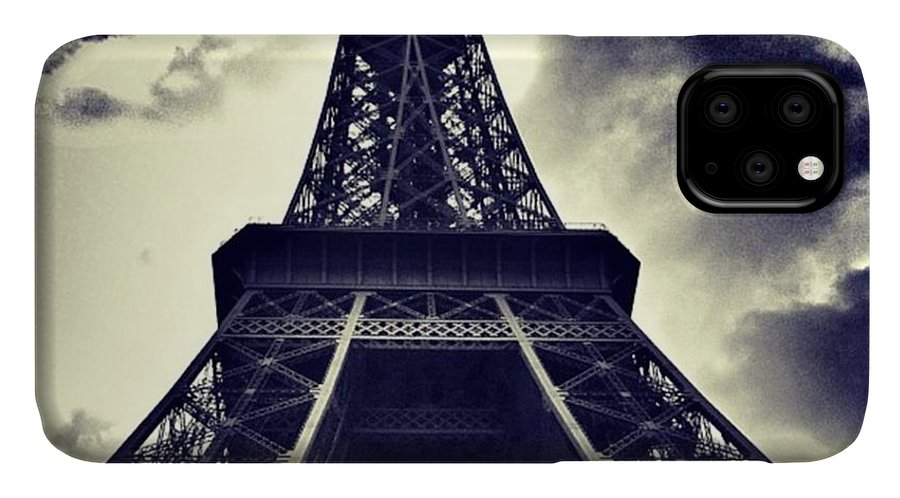 Instaaddict IPhone Case featuring the photograph #paris by Ritchie Garrod
