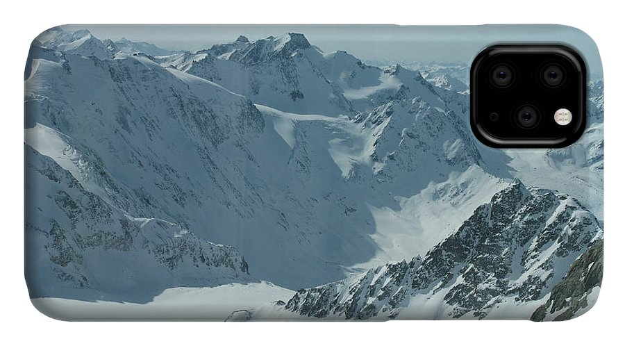 Pitztal Glacier IPhone Case featuring the photograph Pitztal Glacier by Olaf Christian