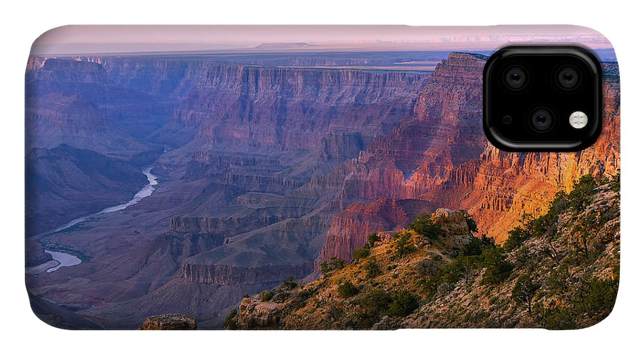 Grand Canyon National Park IPhone Case featuring the photograph Canyon Glow by Mikes Nature