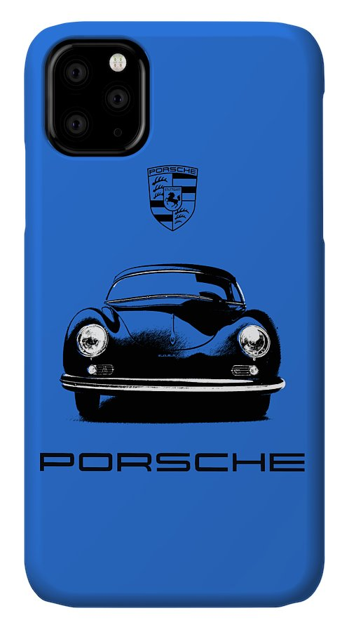 Porsche IPhone 11 Case featuring the photograph 356 by Mark Rogan