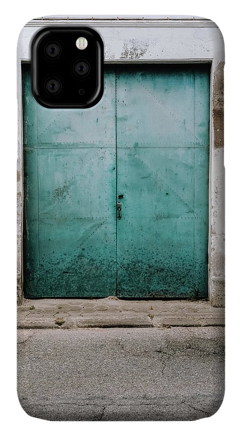 Old Town IPhone Case featuring the photograph Door With No Number by Marco Oliveira