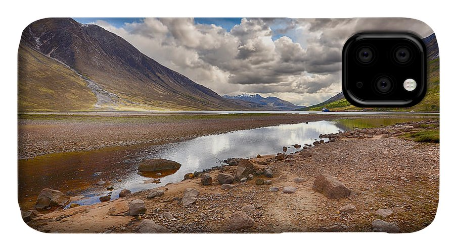 Loch Etive IPhone Case featuring the photograph Loch Etive by Smart Aviation