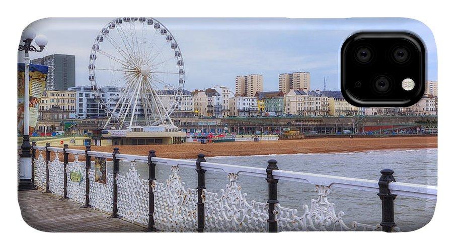Brighton Pier IPhone Case featuring the photograph Brighton Pier by Joana Kruse