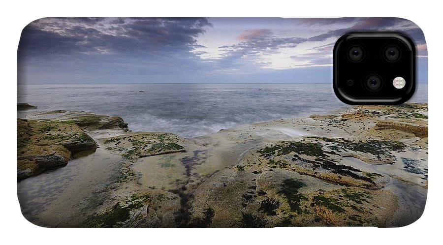 Saltwick Bay IPhone Case featuring the photograph Saltwick Bay by Smart Aviation