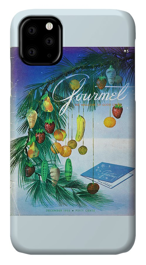 Food IPhone Case featuring the photograph A Gourmet Cover Of Marzipan Fruit by Henry Stahlhut