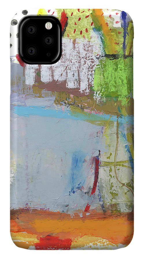 Abstract IPhone Case featuring the mixed media Rcnpaintings.com by Chris N Rohrbach