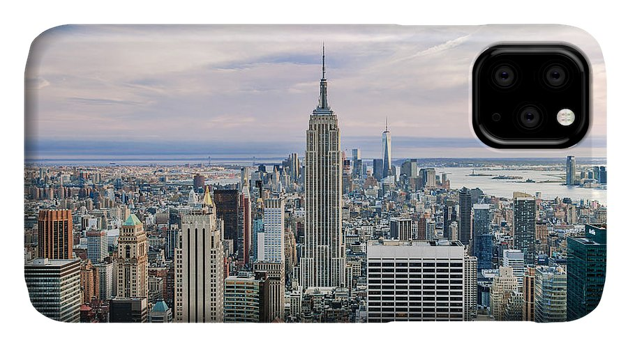 Empire State Building IPhone Case featuring the photograph Amazing Manhattan by Az Jackson