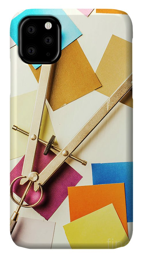 Designer IPhone Case featuring the photograph An Upside Down Build by Jorgo Photography - Wall Art Gallery