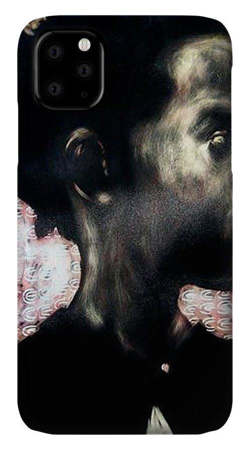 IPhone Case featuring the mixed media Angel of Mercy by Chester Elmore