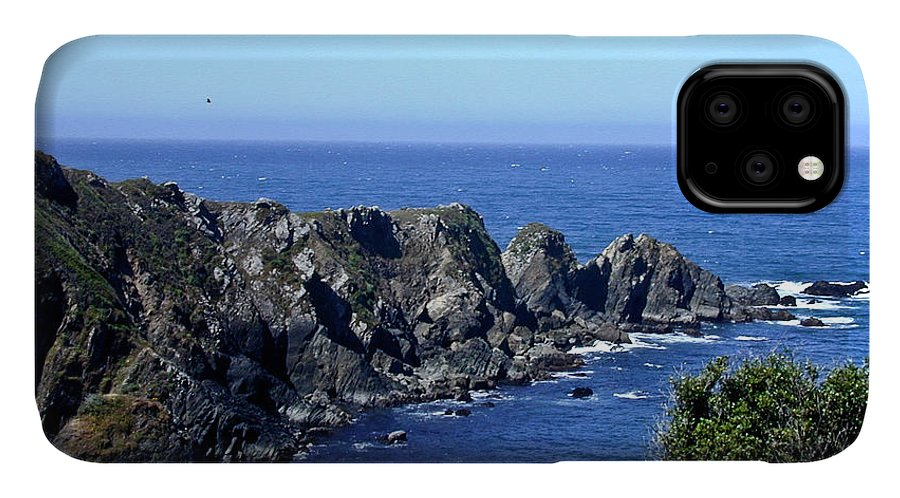 Arena IPhone Case featuring the photograph Arena Point California by Douglas Barnett