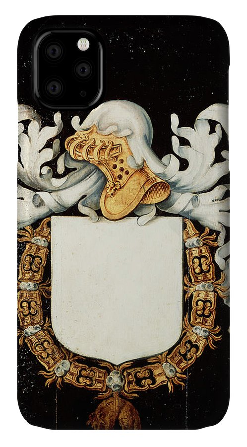 Order Of The Golden Fleece IPhone Case featuring the painting Armorial Plates From The Order Of The Golden Fleece - 55 by Lukas de Heere