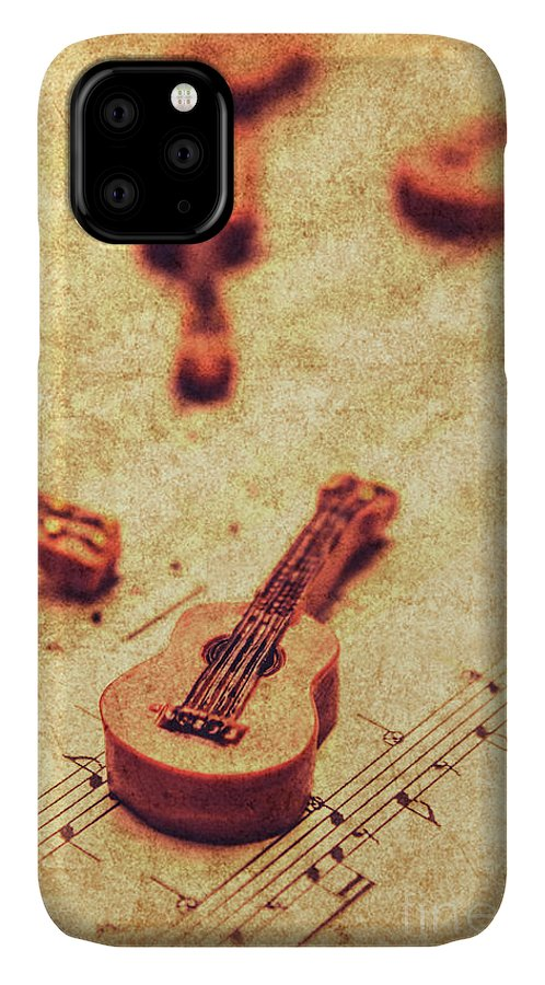 Vintage IPhone 11 Case featuring the photograph Art Of Classical Rock by Jorgo Photography - Wall Art Gallery