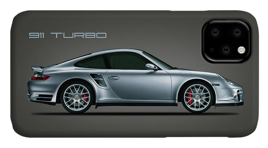 Porsche IPhone Case featuring the photograph Porsche 911 Turbo by Mark Rogan