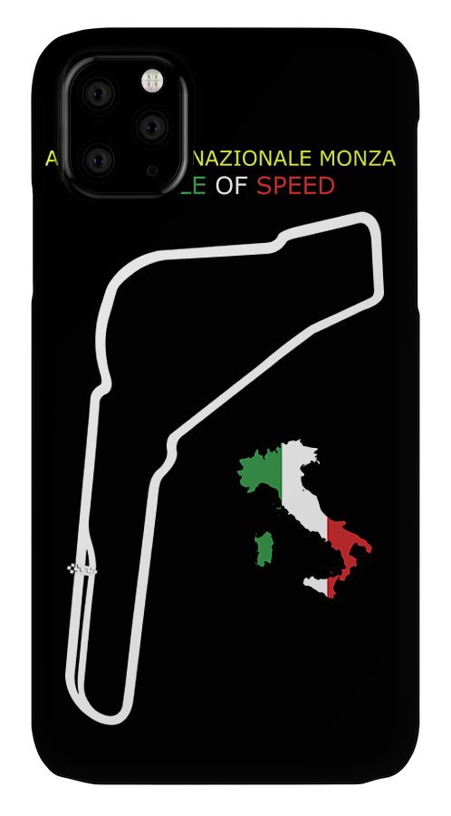 Monza IPhone Case featuring the photograph Autodromo Nazionale Monza by Mark Rogan