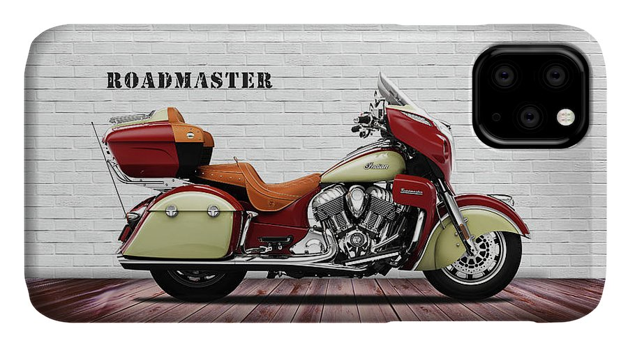 Indian Roadmaster IPhone 11 Case featuring the photograph The Roadmaster by Mark Rogan