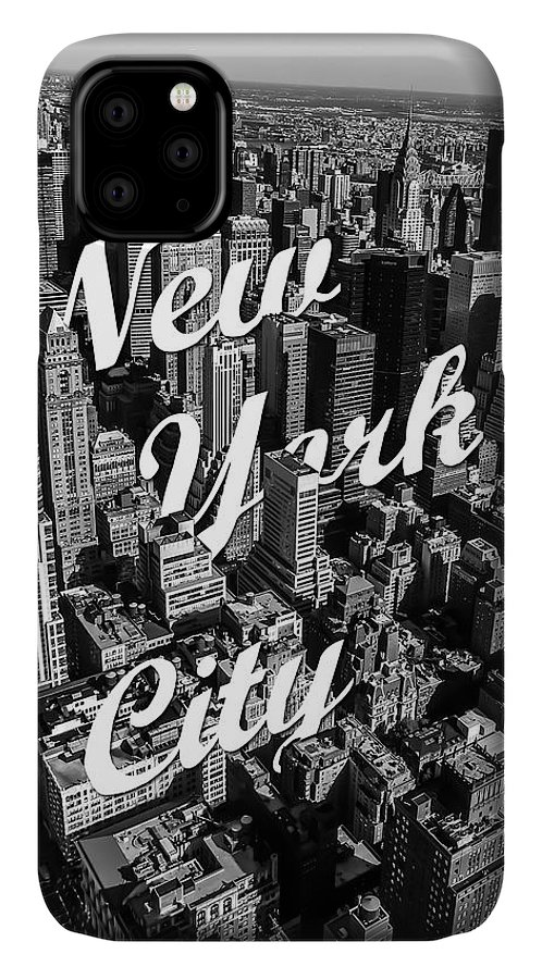 New York IPhone Case featuring the photograph New York City by Nicklas Gustafsson