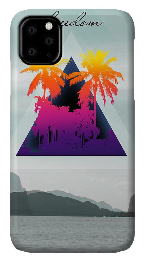 Thailand IPhone 11 Case featuring the photograph Freedom by Mark Ashkenazi