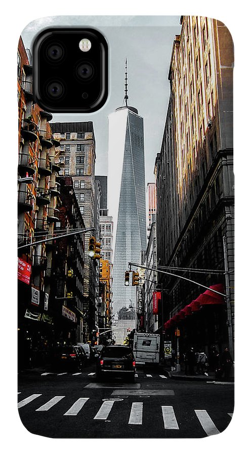 Nyc IPhone 11 Case featuring the photograph Lower Manhattan by Nicklas Gustafsson