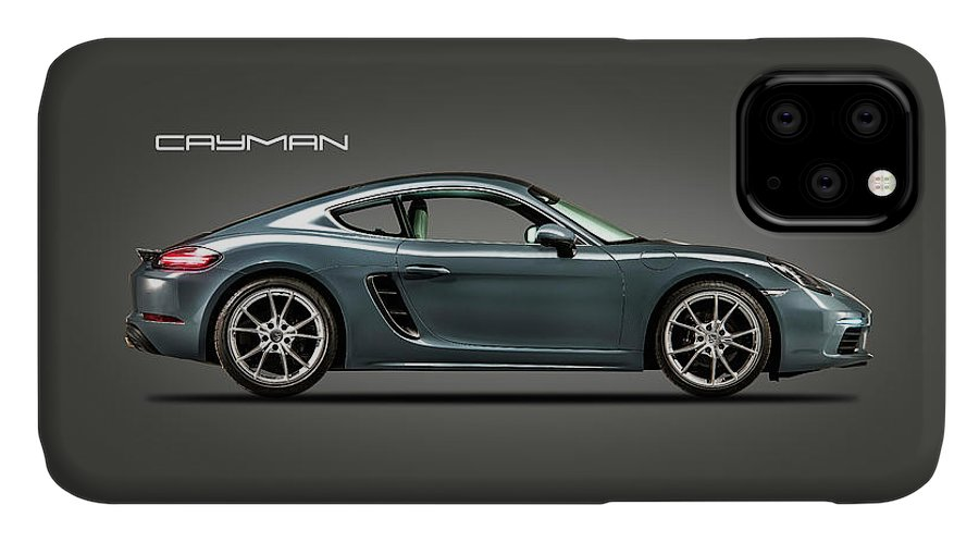 Porsche Cayman IPhone 11 Case featuring the photograph The Cayman by Mark Rogan