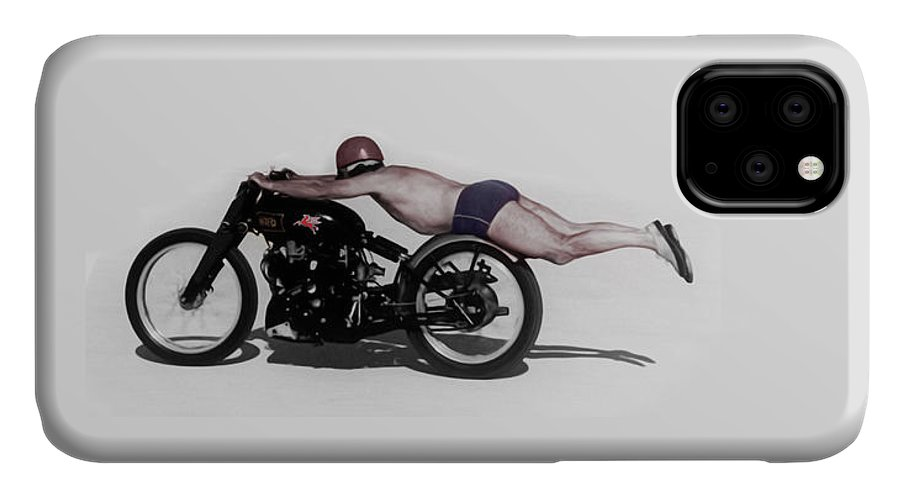 Rollie Free IPhone Case featuring the photograph Roland Rollie Free by Mark Rogan
