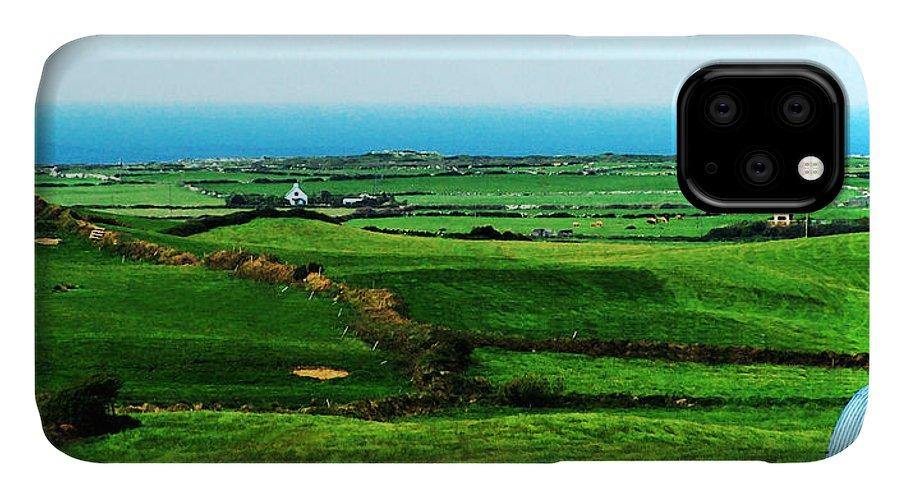 Ireland IPhone Case featuring the photograph Atlantic View Doolin Ireland by Teresa Mucha
