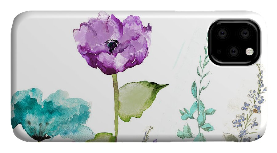 Garden IPhone Case featuring the painting Avril by Mindy Sommers