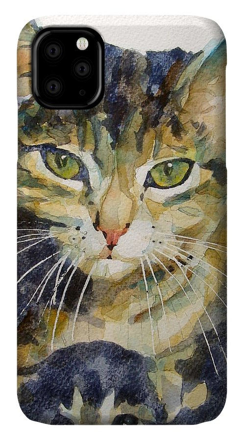 Kittens IPhone Case featuring the painting Baby I Love You by Paul Lovering