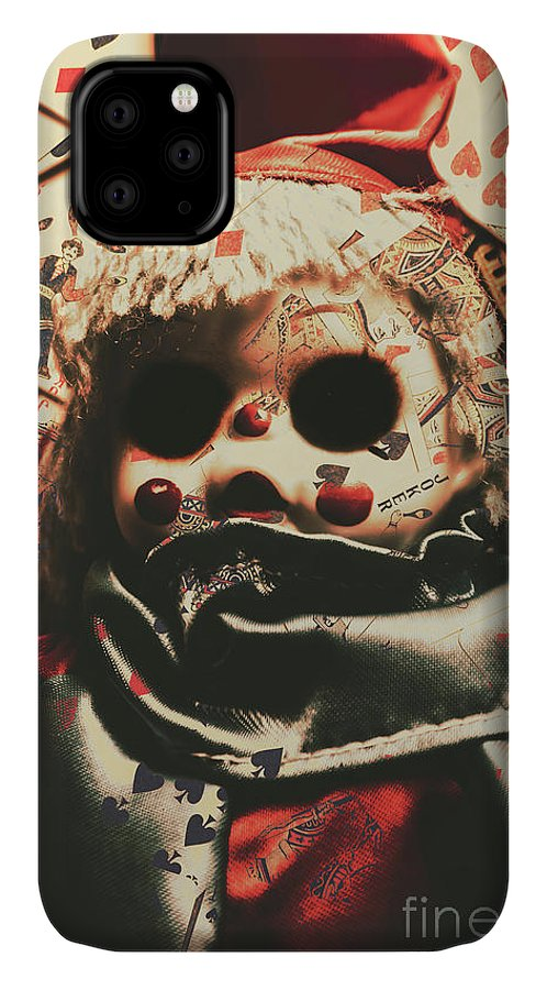 Bad IPhone 11 Case featuring the photograph Bad Magic by Jorgo Photography - Wall Art Gallery