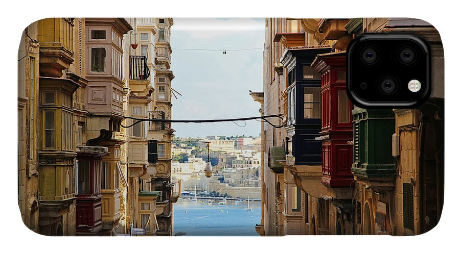 Balconies IPhone Case featuring the photograph Balconies Of Valletta 2 by Jasna Buncic