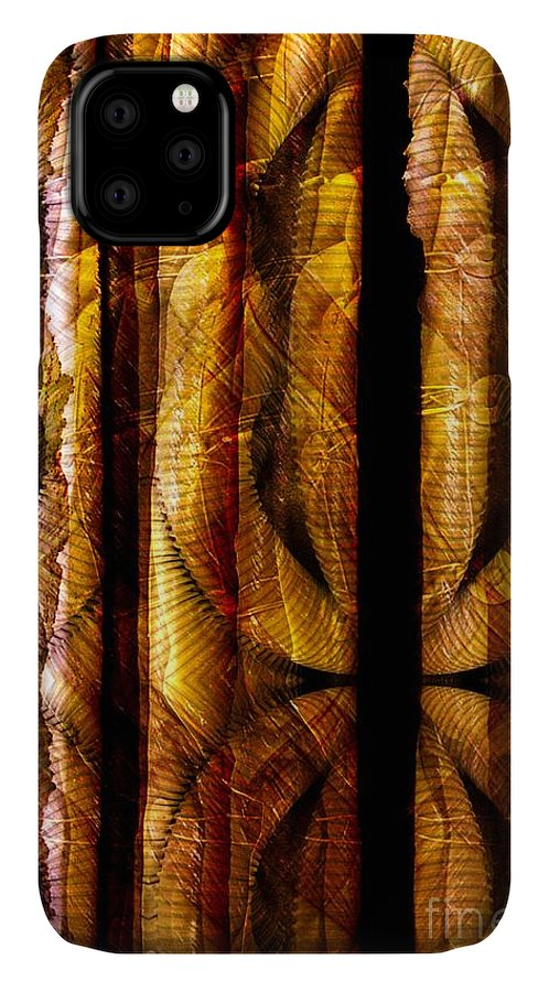Bamboo IPhone Case featuring the digital art Bamboo by Ron Bissett
